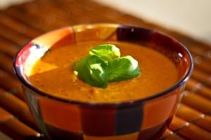 Fire Roasted Tomato Basil Soup