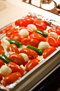Fire Roasted Salsa - Process