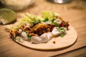 Ground Chicken Taco