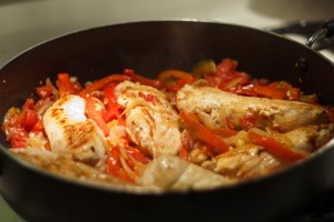 Balsamic & Red Pepper Chicken