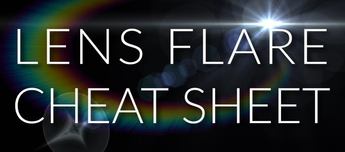 VFX Lens Flare Sheet