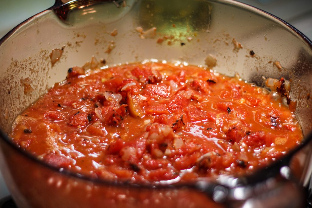 Fire Roasted Tomato Basil Soup