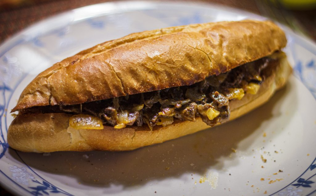 Unphiladelphia Cheesesteak